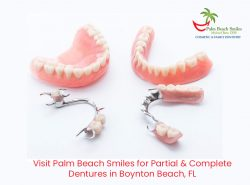 Visit Palm Beach Smiles for Partial & Complete Dentures in Boynton Beach, FL
