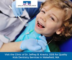 Visit the Clinic of Dr. Jeffrey B. Kravitz, DDS for Quality Kids Dentistry Services in Wakefield, MA