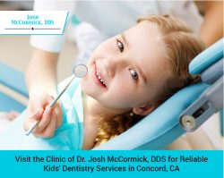 Visit the Clinic of Dr. Josh McCormick, DDS for Reliable Kids' Dentistry Services in Conco ...