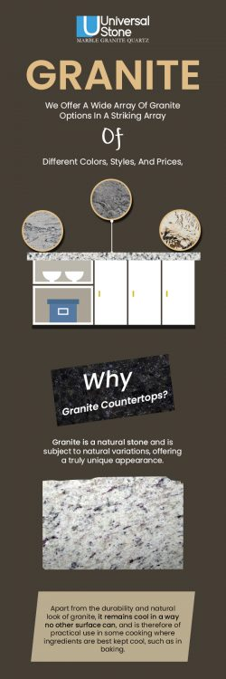 Visit Universal Stone to Buy Quality Granite Countertops in Charlotte, NC