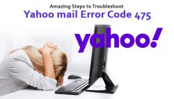 Amazing Steps to Troubleshoot Yahoo mail Error Code 475