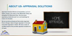 Real Estate Appraiser | Home Measurements Services Salem