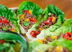 Beef Lettuce Wraps