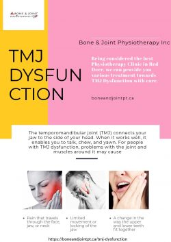 Best TMJ Dysfunction Physiotherapy Clinic in Red Deer