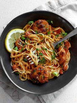 Blackened Shrimp Pasta – with VIDEO – Budget Bytes