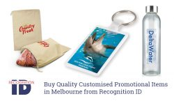 Buy Quality Customised Promotional Items in Melbourne from Recognition ID