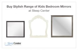 Buy Stylish Range of Kids Bedroom Mirrors at Sleep Center