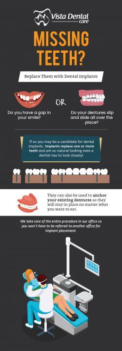 Choose Vista Dental Care for Affordable Dental Implants in Red Deer, AB