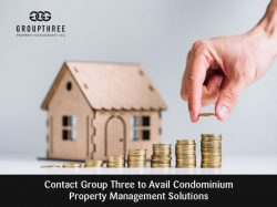 Contact Group Three to Avail Condominium Property Management Solutions