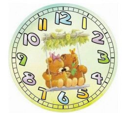 Orologio cartone animato