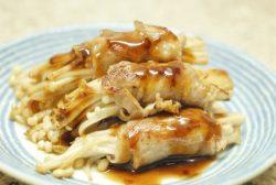 Enoki Mushrooms Pork Rolls Recipe