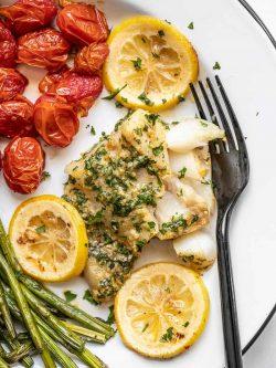 Garlic Butter Baked Cod – Budget Bytes