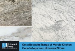 Get a Beautiful Range of Marble Kitchen Countertops from Universal Stone