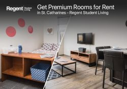 Get Premium Rooms for Rent in St. Catharines – Regent Student Living