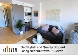 Get Stylish and Quality Student Living Near uOttawa – 1Eleven