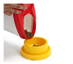 PLASTIC H507 (10L) PET FOOD CONTAINER