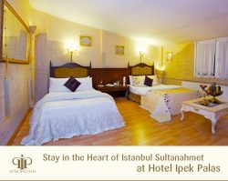 Stay in the Heart of Istanbul Sultanahmet at Hotel Ipek Palas