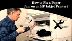 How to Fix a Paper Jam on an HP Inkjet Printer?