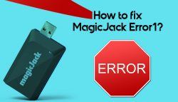 How to Fix MagicJack Error 1?