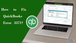 How to Fix QuickBooks Error 3371?
