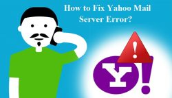 How to Fix Yahoo Mail Server Error?