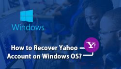 How to Recover Yahoo Account on Windows OS?