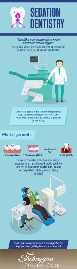 Make your Dental Visit Anxiety-free with Sedation Dentistry from Sheboygan Dental Care