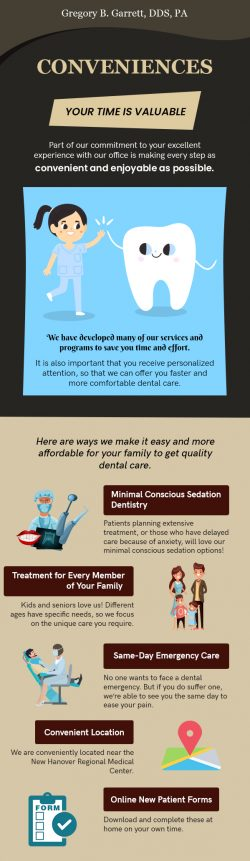 Meet Gregory B. Garrett, DDS to Avail Various Dental Conveniences in Wilmington, NC