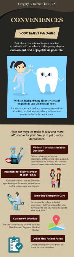 Meet Gregory B. Garrett, DDS to Avail Various Dental Conveniences in Wilmington, NC