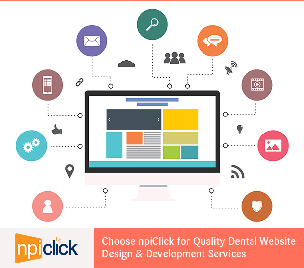 Choose npiClick for Quality Dental Website Design & Development Services