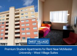Premium Student Apartments for Rent Near McMaster University – West Village Suites