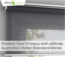Protect Your Privacy with eBlinds Australia's Roller Standard Blinds