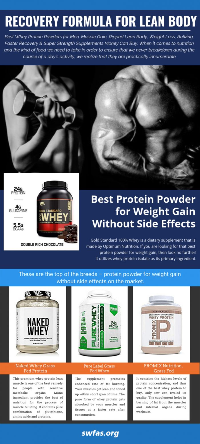 Recovery Formula for Lean Body