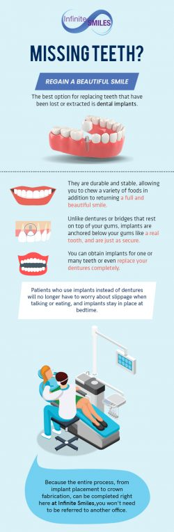 Regain a Beautiful Smile with Dental Implants from Infinite Smiles