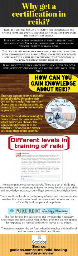 How can you gain knowledge about reiki?