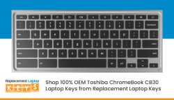 Shop 100% OEM Toshiba ChromeBook CB30 Laptop Keys from Replacement Laptop Keys