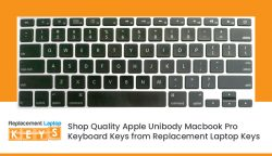 Shop Quality Apple Unibody Macbook Pro Keyboard Keys from Replacement Laptop Keys