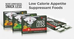 Snack Less – Low Calorie Appetite Suppressant Foods