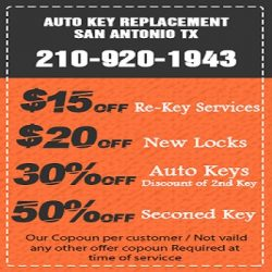 Residential Key Replacement San Antonio TX