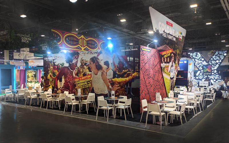 Trade Show Exhibit in Las Vegas