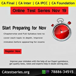 Test Series for CA Inter Exams
