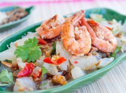 Thai Pawn & Pomelo Salad