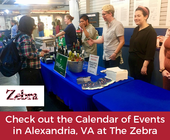 Check out the Calendar of Events in Alexandria, VA at The Zebra