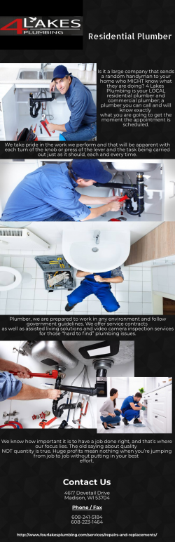 Residential Plumber