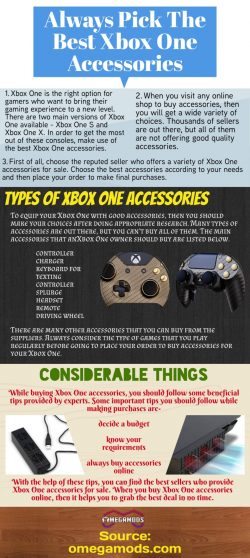 Some of the top-rated accessories for Xbox one