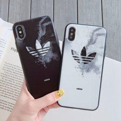 Adidas iPhone11 pro max 三つ葉ロゴ