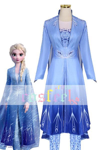 アナと雪の女王2 エルサ コスプレ衣装