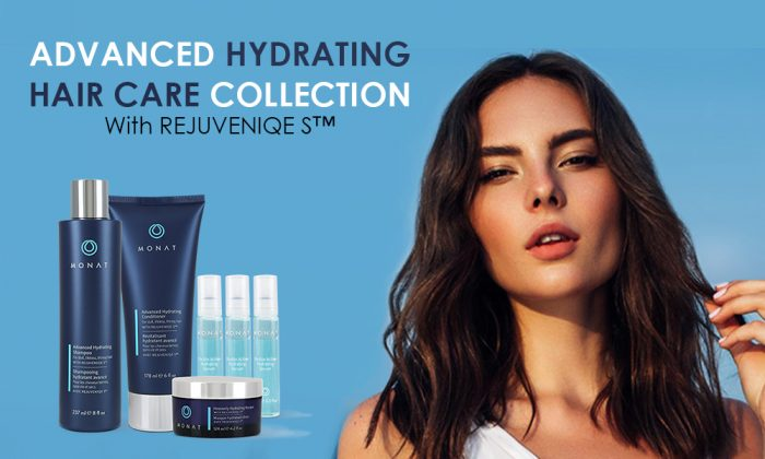 ADVANCED HYDRATING HAIR CARE COLLECTION With REJUVENIQE S™