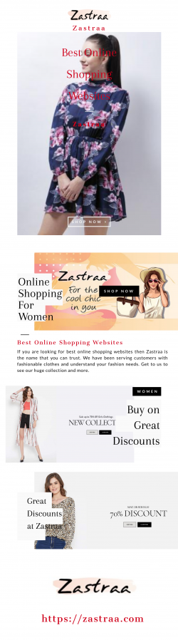 Looking for Best Online Shopping Websites | Zastraa