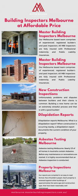 Building Inspectors Melbourne at Affordable Price
